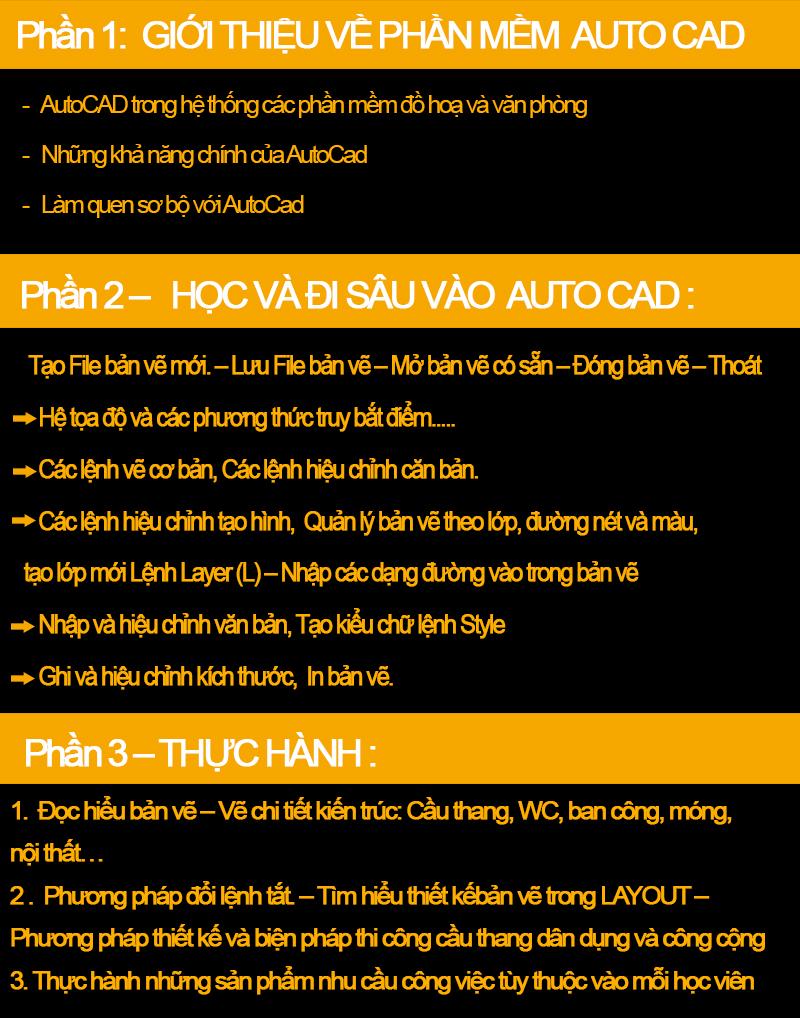 Học autocad ở đâu tốt nhất Thanh Xuân Hà Nội